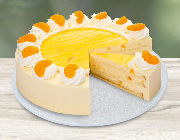 Lys da Capo Mandarinen-Käse-Sahne-Torte