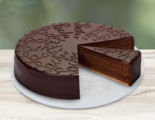 Lys da Capo Sacher-Torte