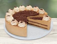 Lys da Capo Cappuccino-Sahne-Torte